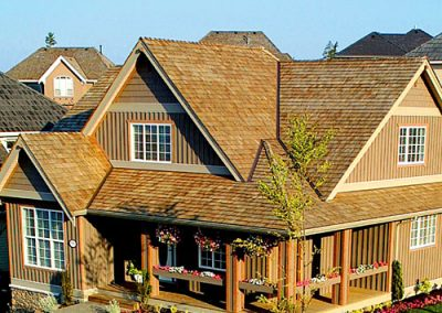 image of Wolf Creek Cedar's wood cedar roof work