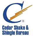 Proud member, Cedar Shake and Shingle Bureau